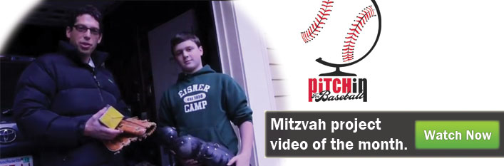 Mitzvah project video of the month - watch now.