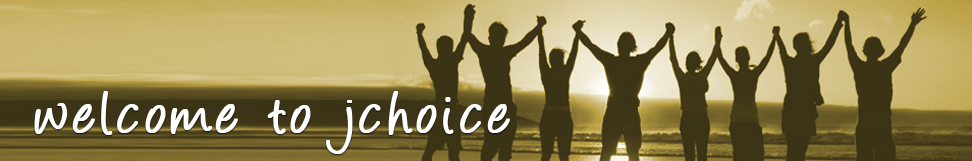 Welcome to Jchoice, sign in, join for free, and donate to a cause